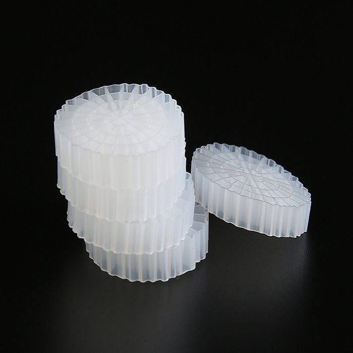 Shock Resistance Plastic MBBR Biocell Filter Media High Surface Area For RAS