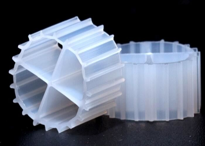 HDPE Small Size K1 Bio Filter Media 900m2 / M3 Suface Area 11*7mm Size